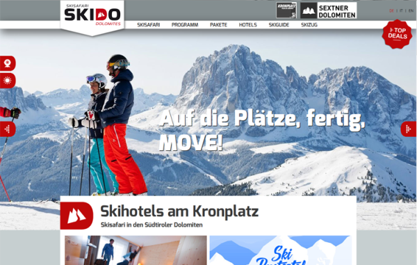 Skidoo Mediaanalyse & Neuausrichtung der Bewerbung