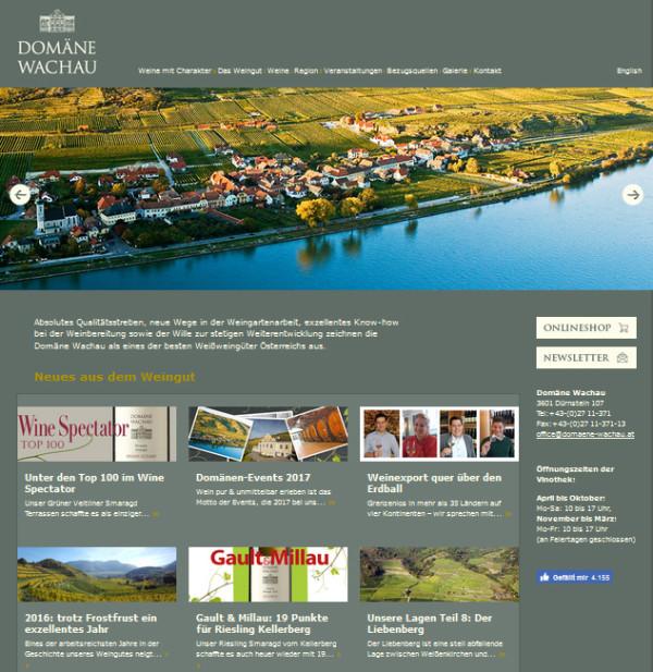 Weingut Domäne Wachau, Oberösterreich